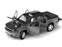 2007 chevrolet pickup 3d model