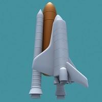 3d shuttle space