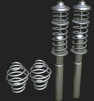 3d model of suspension