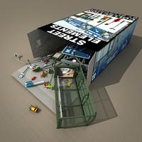 street elements 3d model