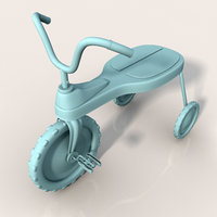 tricycle cycle 3d model