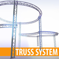 Truss system 3 pipes