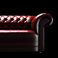 maya luxurious leather sofa