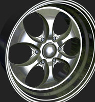 3d obj wheels rim