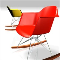 3d molded plastic chairs charles eames