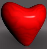 heart 3d c4d