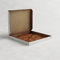3d pizzas boxes