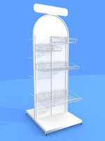 3d store display rack