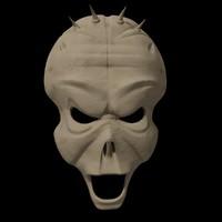 free max model alien mask