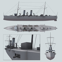 3d max battleship battle ship