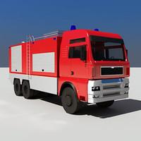 Fire Truck TGA