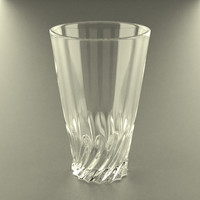 3d model glass glassware