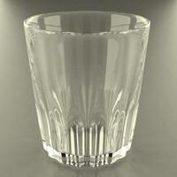 3d glass glassware