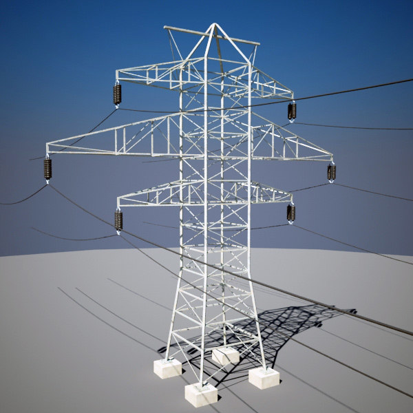 3d electric line - Electric  Line I... by QLEE