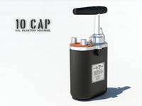 10 Cap Blasting Machine