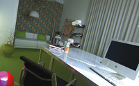 office vitra ikea 3d model