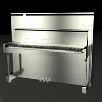 3ds max piano