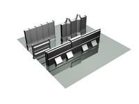 sf walls 3d model