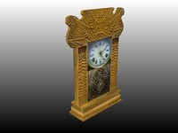"Project Polygon""s Antique Grandfather Clock"