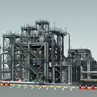 industrial building dxf