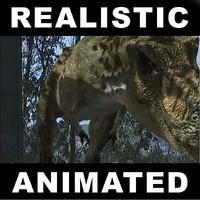 jurassic t rex 3d model