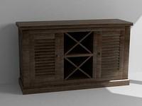 maya wine cabinet
