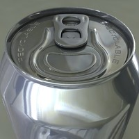 Blank Soft Drink Can