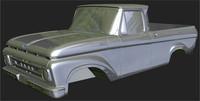 3d model of 1961 truck