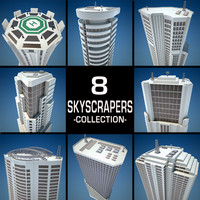 maya 8 skyscrapers