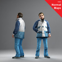 3d axyz human