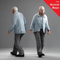 axyz 2 human 3d 3ds