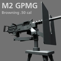 Browning M2 General Purpose Machine Gun (GPMG)