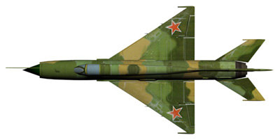 mig 21 fighter 3d max - MiG_21_low_poly.rar... by MP125