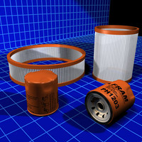 Air and Oil Filters Collection 01