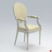 chair old fashioned 3d max