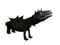 free creature 3d model