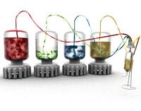 feeding bottles liquids 3d model