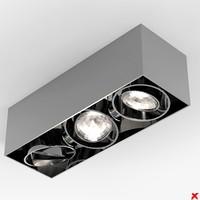 3d model lamp ceiling
