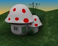 max mushroom house