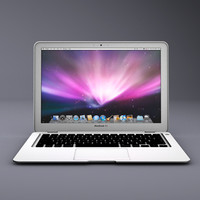 apple macbook air 3d 3ds