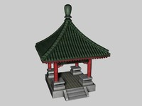 pagoda chinese 3d model