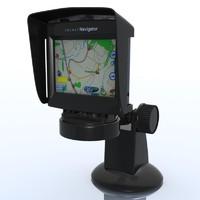 3ds max gps navigator pocketnavigator pn3510