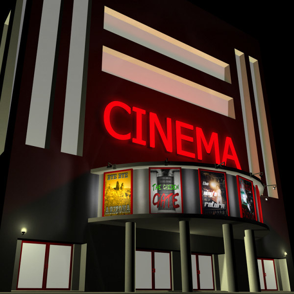 3d theater building movie model for Model house movie