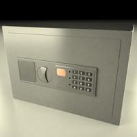 3d model safe deposit