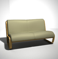 3d contemporary sofa furniture model