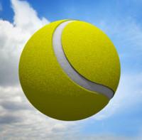 c4d tennis ball