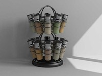 spice rack 3d max