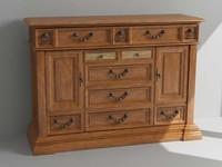 3d dresser cabinet model