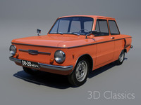 3d model 1960 zapor