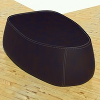 max fjord medium pouf stone